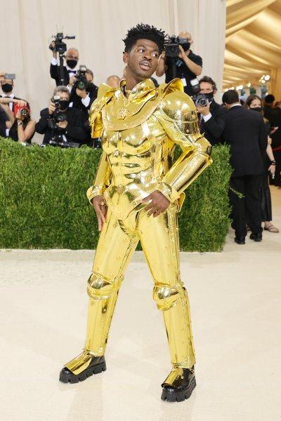 Lil Nas X at the Met Gala