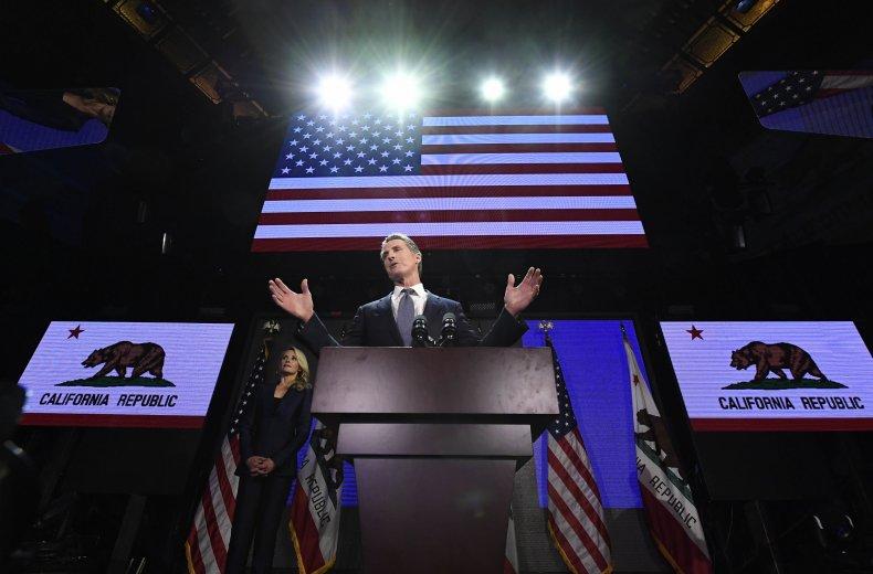 Democratic Gubernatorial Candidate Gavin Newsom