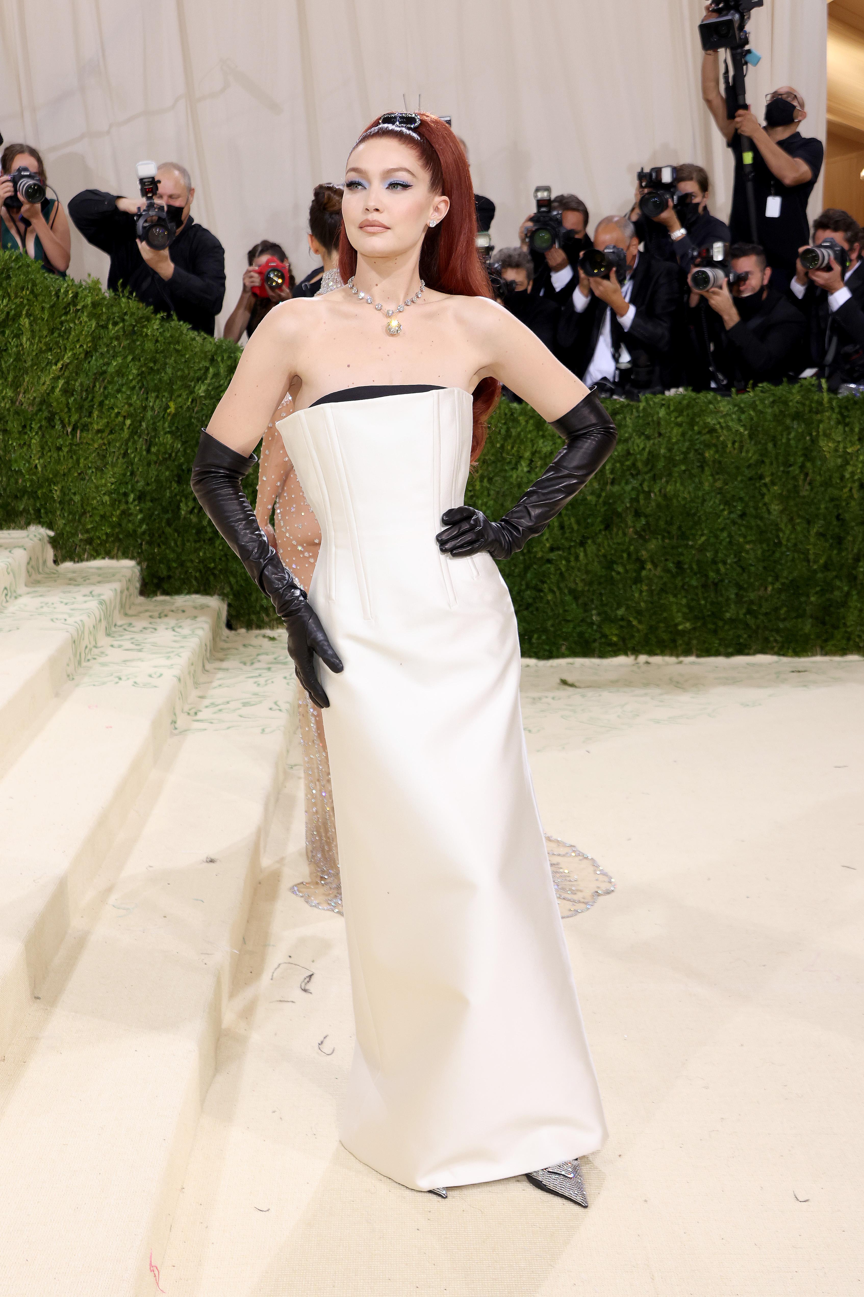 Gigi Hadid at the Met Gala