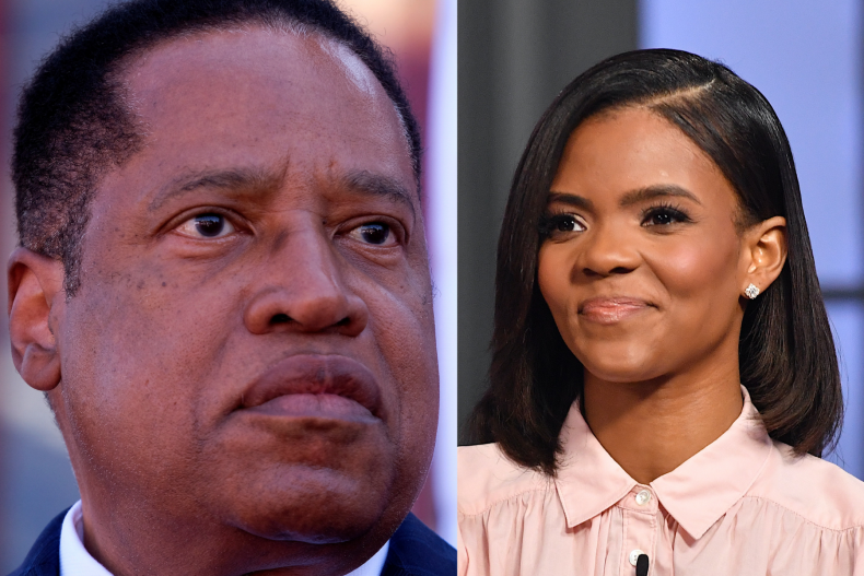Larry Elder and Candace Owens
