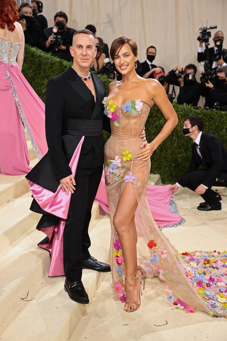 Jeremy Scott and Irina Shayk