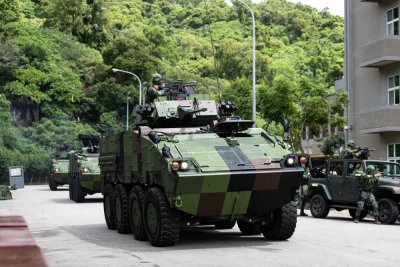 Taiwan Live-fire Military Drills Simulate Chinese Attacks