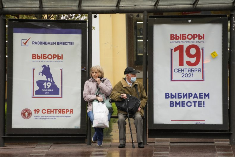 Russian Duma Election Posters