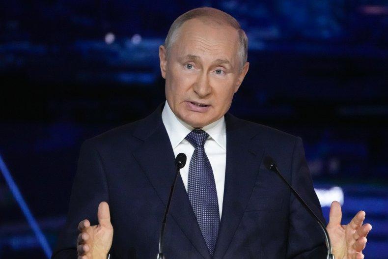 Putin Delivers Speech