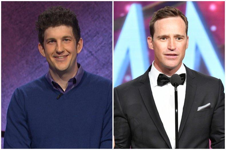 """""""Jeopardy!"""" champ Matt Amodio and Mike Richards"""
