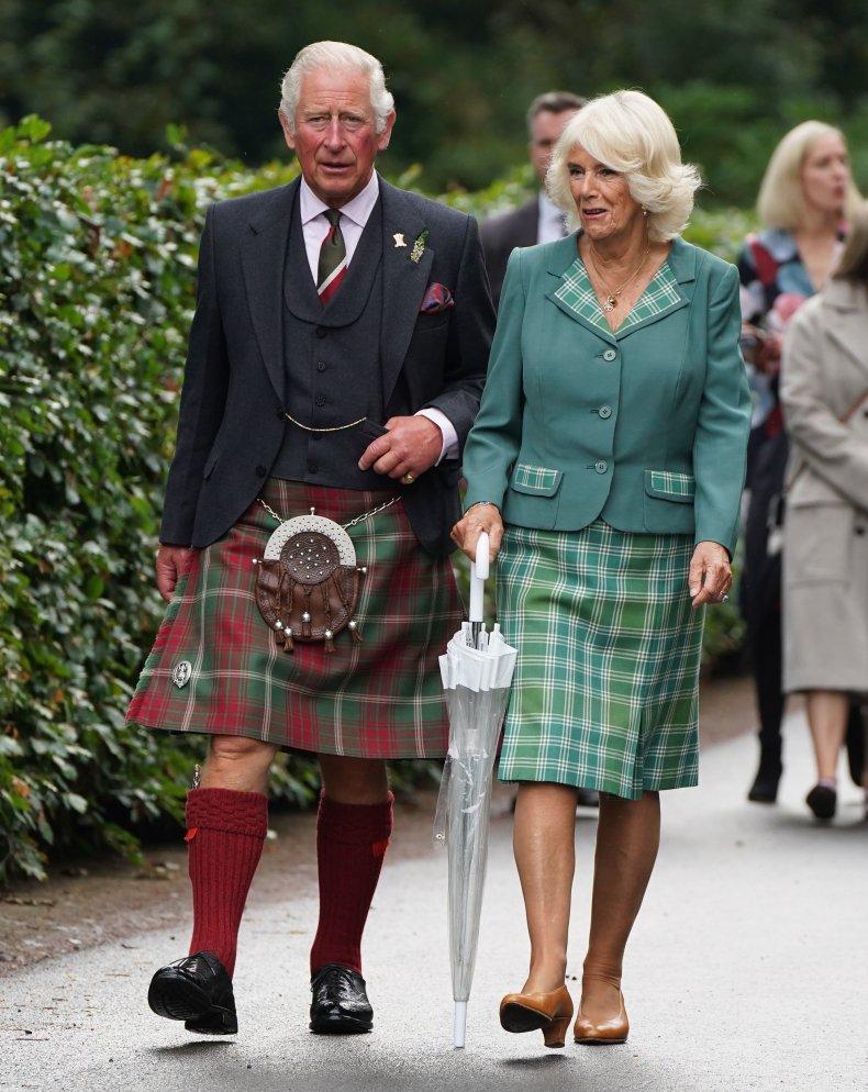 Prince Charles, Camilla at Dumfries House