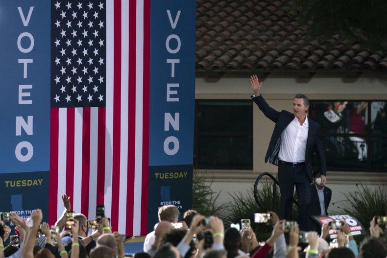 Gavin Newsom Final Campaign Day