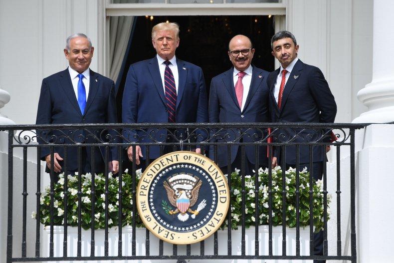 Israeli Prime Minister Benjamin Netanyahu, US President