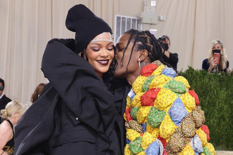 Rihanna and A$AP Rocky