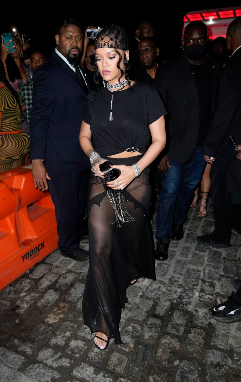 Rihanna hosts the Met Gala after party