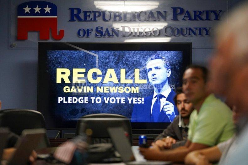 Voter Mistrust in Recall Election