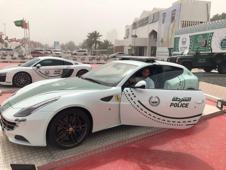 Ferrari squad car, Dubai