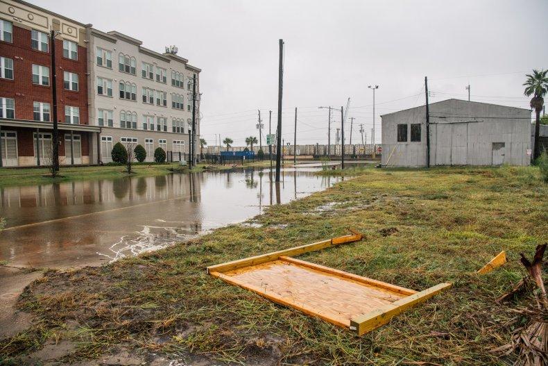 Flooded Galveston Streets