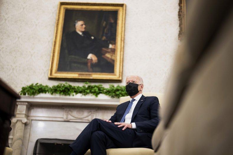 President Biden Welcomes Ukrainian President Zelensky To
