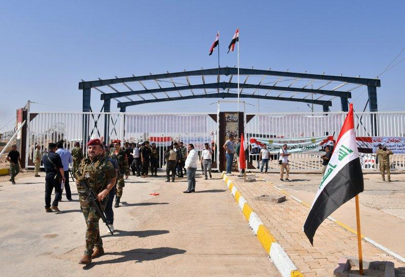 Iraq, Syria, border, crossing, Bukamal, Qaim