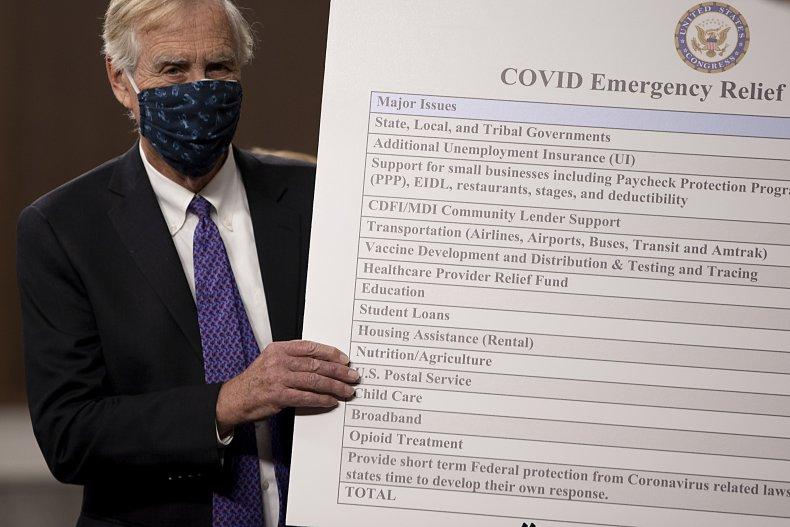 Bipartisan Members Of Congress Announce Coronavirus Relief
