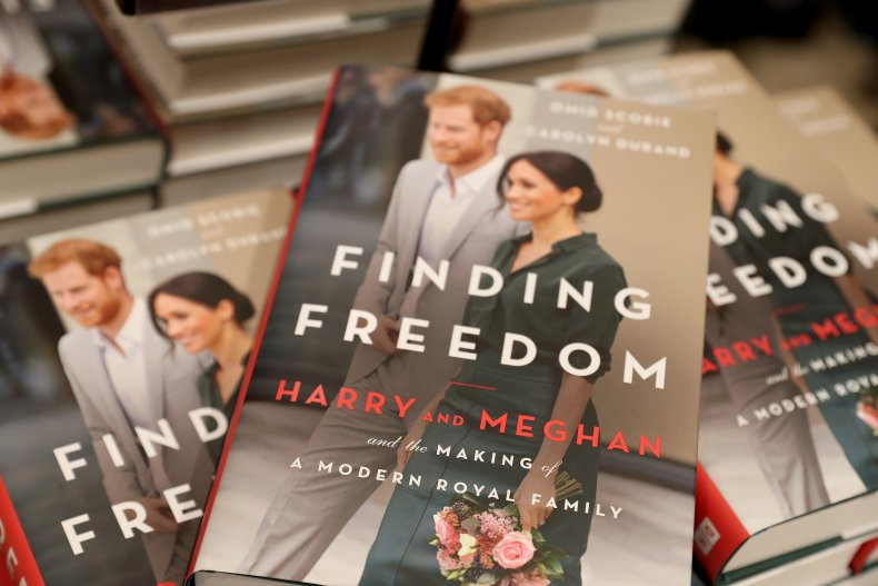 Harry and Meghan Biography Finding Freedom