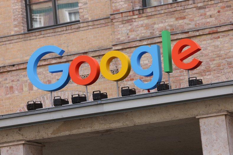 The Google logo seen in Berlin, Germany.