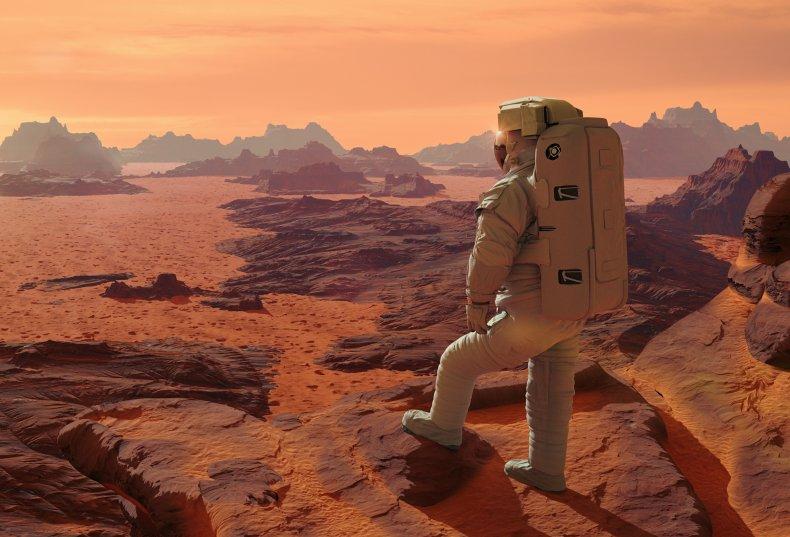 astronaut mars stock getty