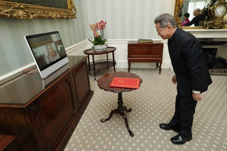China Envoy Barred From U.K. Parliamentary Estate