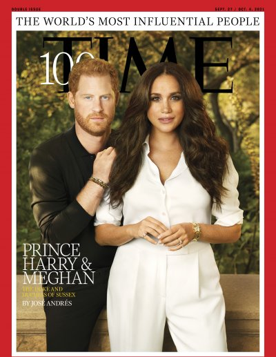 Prince Harry and Meghan Markles Time100 Cover