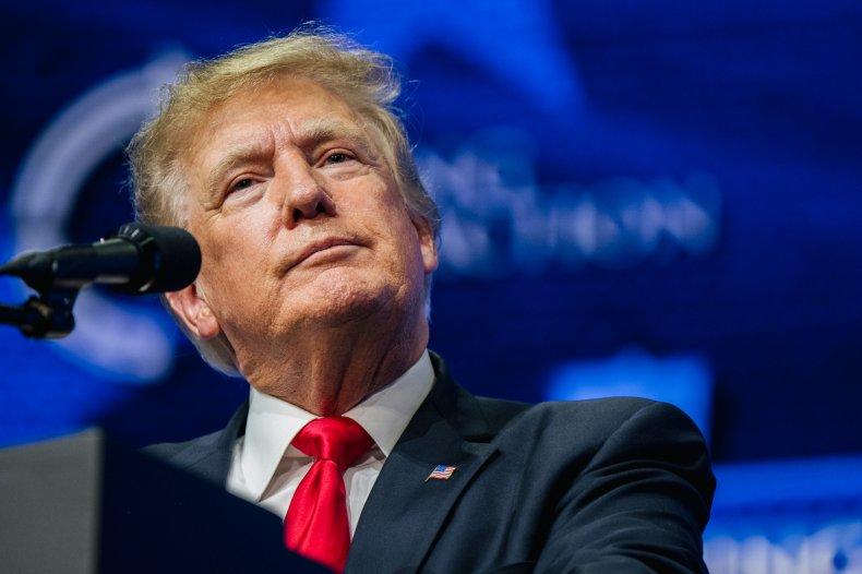 Former U.S. President Donald Trump.