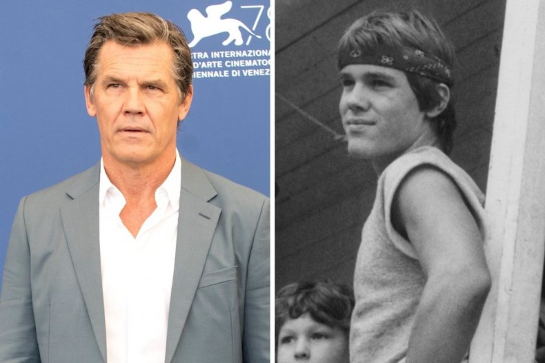 Josh Brolin old and young