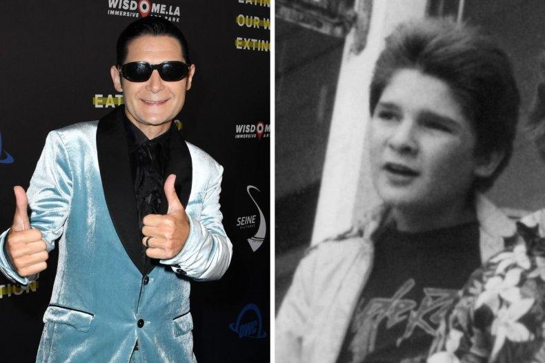 Corey Feldman young and old