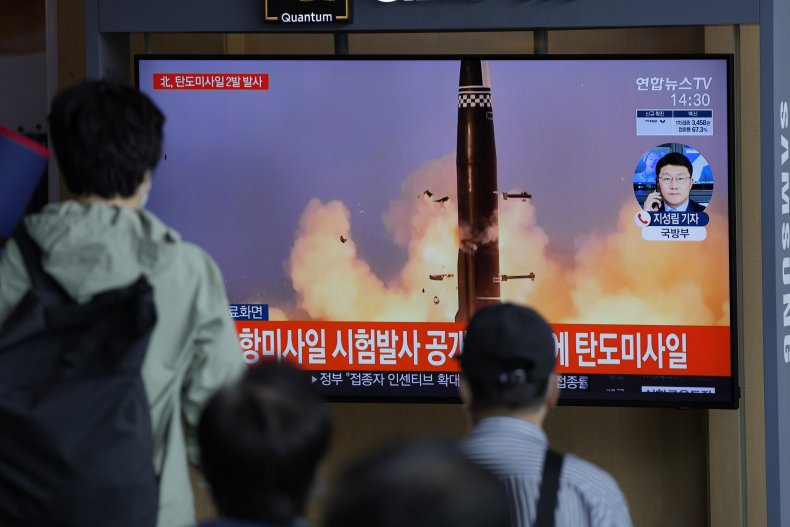 News Reports on Missile Launches