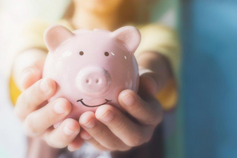 File photo of a piggy bank.