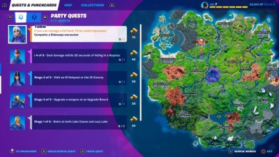 Fortnite Season 8 Map