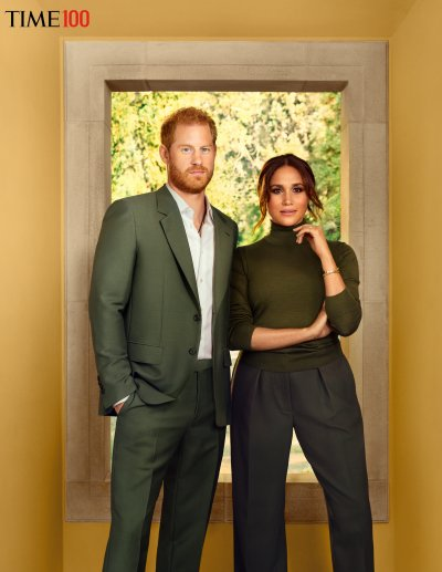 Prince Harry and Meghan Markle in Time