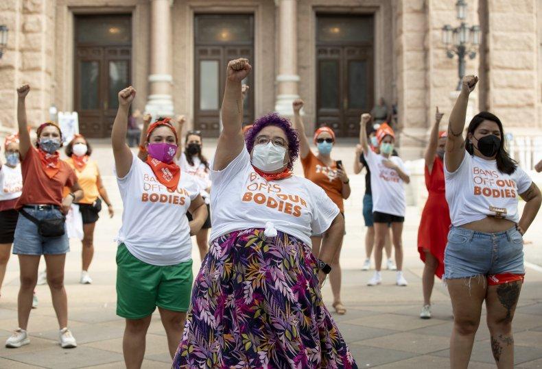 Pro-Life Protestors