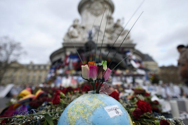 Paris Terror Attacks Tribute
