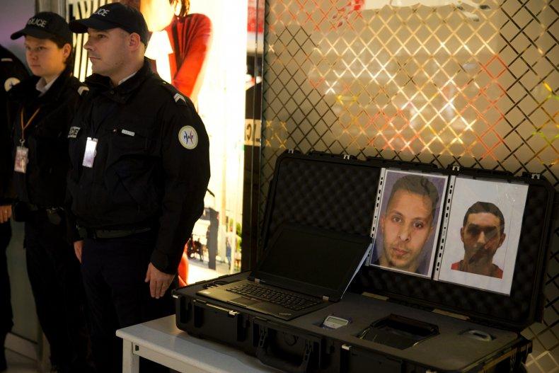 Wanted Notice for Salah Abdeslam