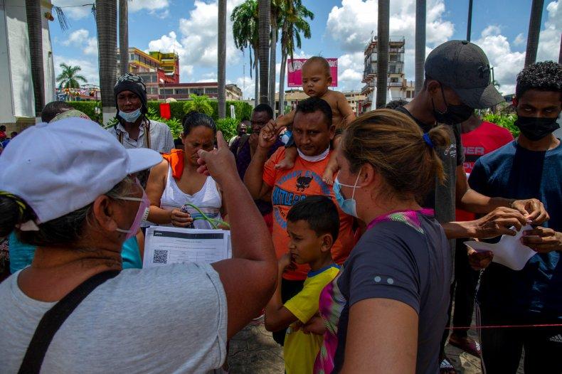Mexico Migrants Seek Asylum