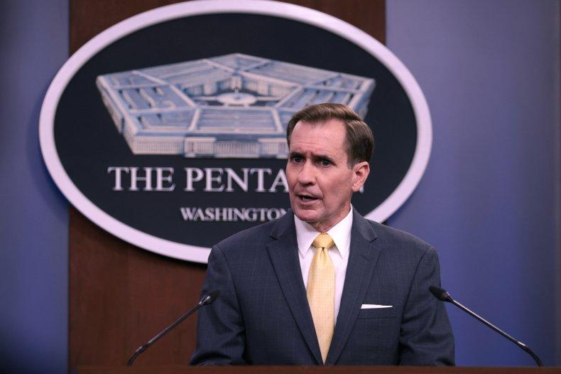 Pentagon After Drone Strike