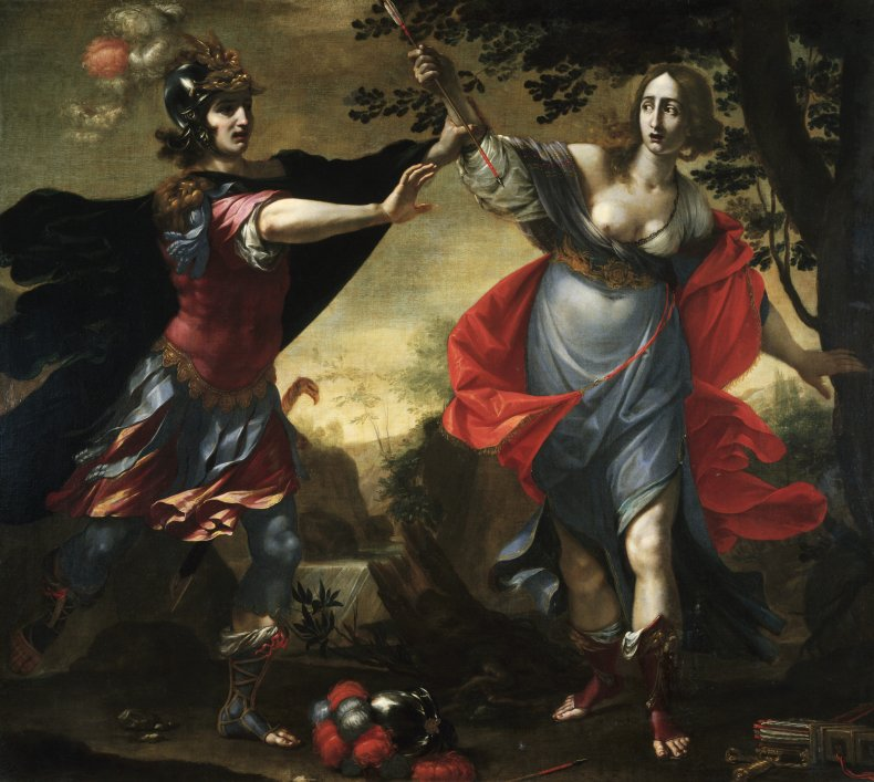 Found Dandini Painting