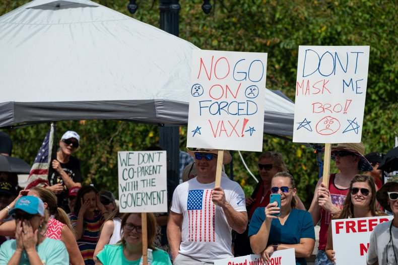 Kentucky Residents Protest COVID Measures