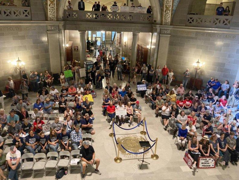 Missouri Vaccine Protests