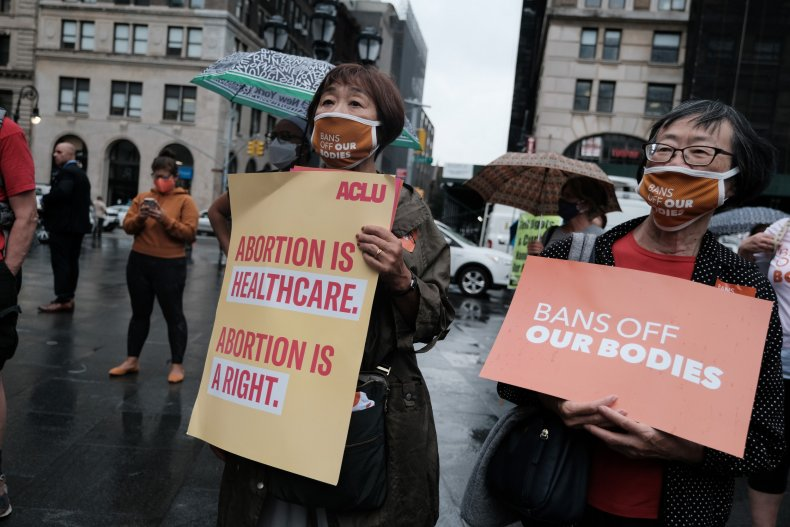 Abortion Ban Protest NYC