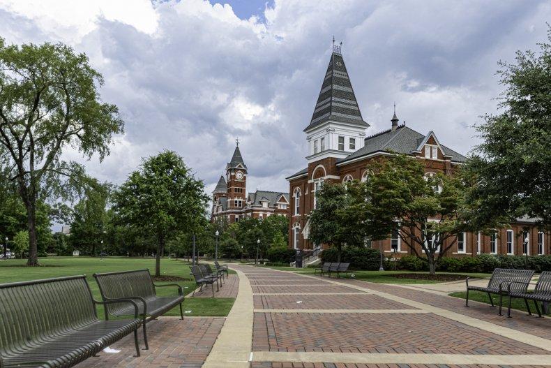 University of Auburn Protest Over Sexual Assault