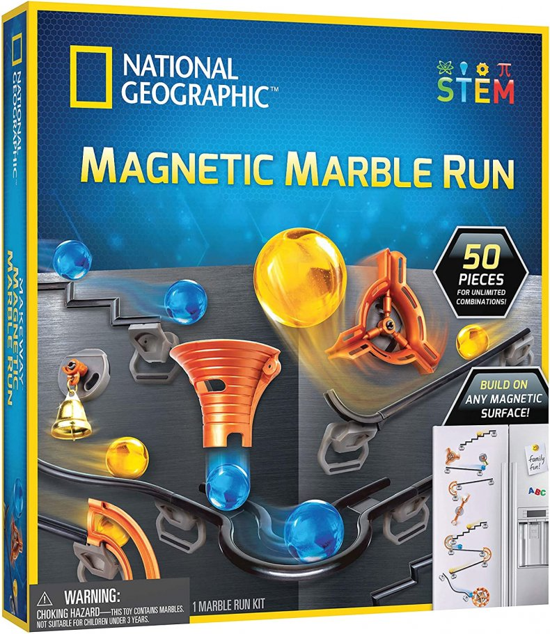 National Geographic Magnetic Marble Run