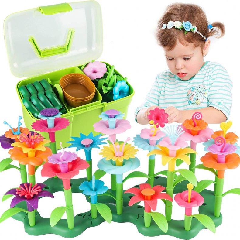 Cenove Flower Garden Building Toys