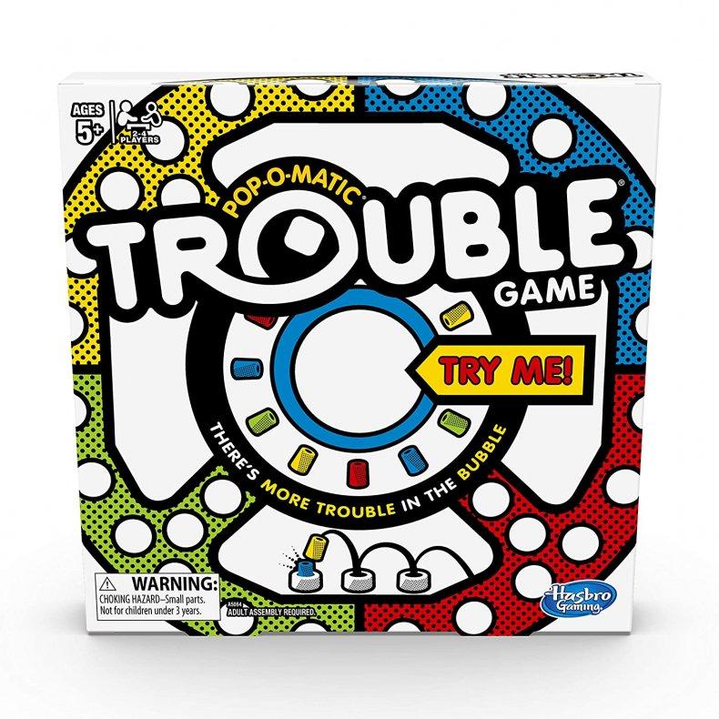 The Hasbro Trouble Board Game
