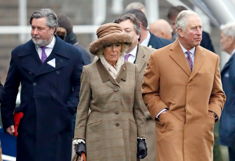 Michael Fawcett With Charles and Camilla