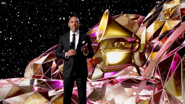 Harvey Mason Jr at the Grammy Awards