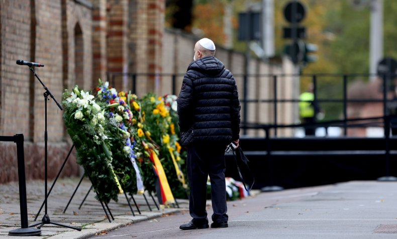 Commemoration of Germany Synagogue Attack