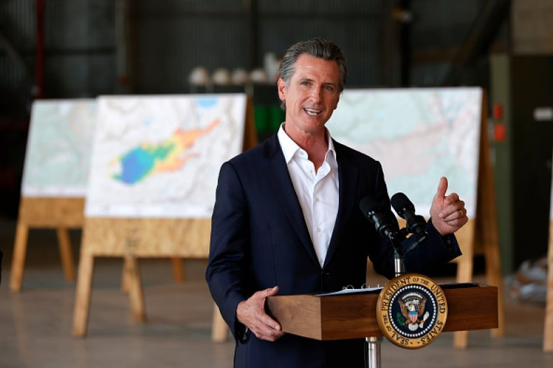 Gavin Newsom California Recall President Election