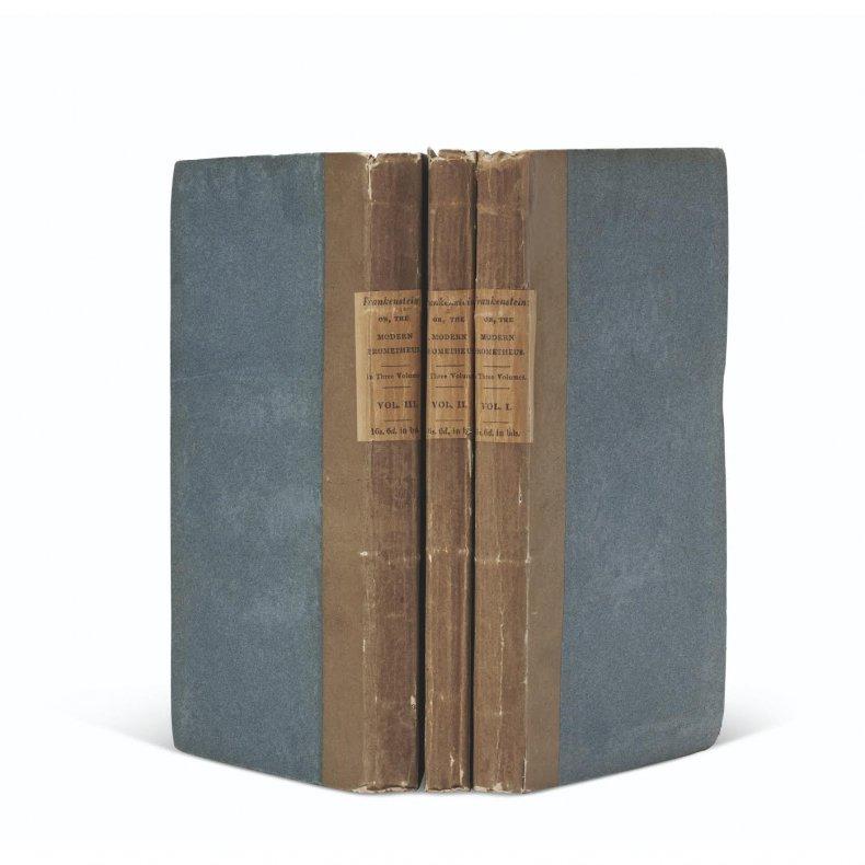 First Edition Frankenstein 1
